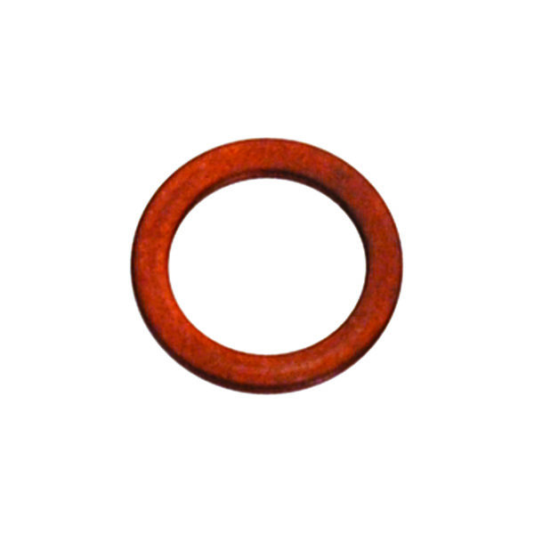 M6 x 10mm x 1.0mm Copper Ring Washer - 25pc