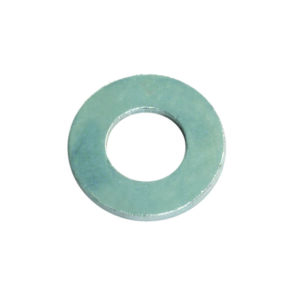 1/4in Flat Steel Washer (ZN)-25Pk
