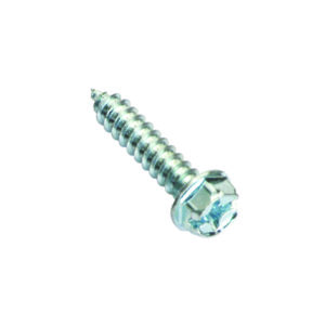 8G X 1/2IN S/TAPPING SCREW HEX HEAD PHILLIPS