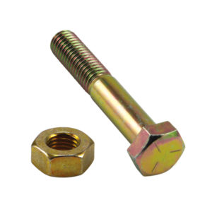 2-1/2in x 1/2in Bolt And Nut (C) GR5