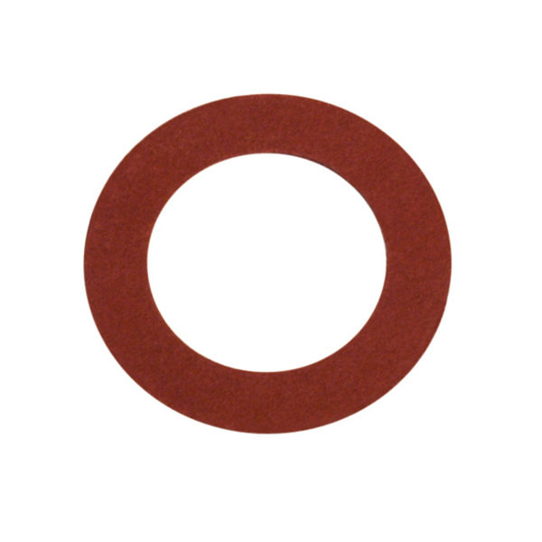 3/8in x 3/4in x 1/32in Red Fibre Washer-50Pk