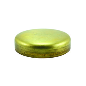 40mm Brass Expansion (Frost) Plug-Cup Type-2Pk