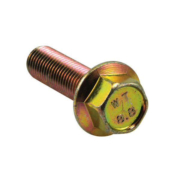 M8 x 50mm Flange Head Set Screw - GR8.8-7pc