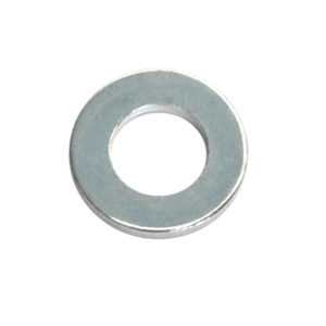 3/16in x 7/16in x 20G Flat Steel Washer - 150pc