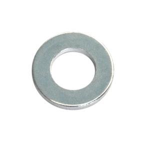 1/4in x 9/16in x 18G Flat Steel Washer-150Pk