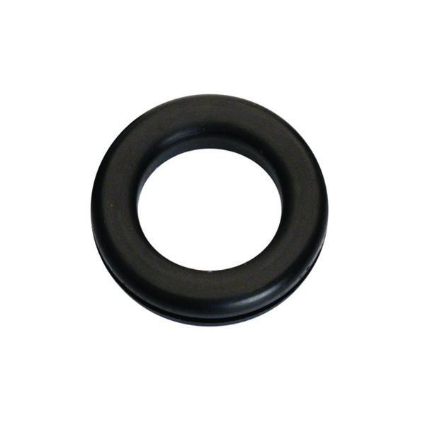 7/16in x 3/4in 1/in Rubber Wiring Grommet - 8pc