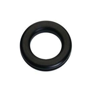 1/4in x 1/2in x 9/16in Rubber Wiring Grommet - 8pc
