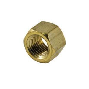 M6 x 1.00mm Brass Manifold Nut - 4pc
