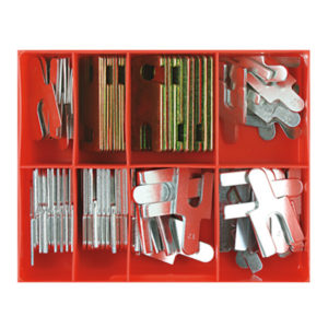 100PC WHEEL ALIGNMENT SHIM ASSORTMENT (METRIC)