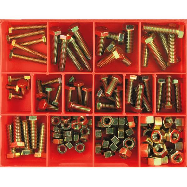113pc UNC S/Screw & Nut Assortment