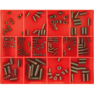 164PC SOCKET (GRUB) SCREW ASSORTMENT