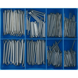 255PC STAINLESS SPLIT (COTTER) PIN ASSORTMENT
