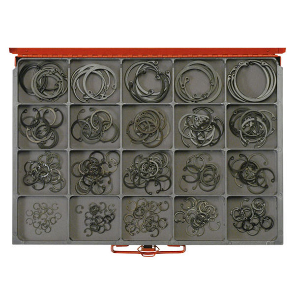 260pc Master Internal Circlip Assortment-Metric