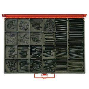 360pc Master Roll Pin Assortment-Metric