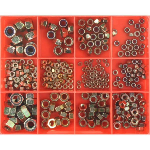 320Pc Metric Nut Assortment (Zinc)