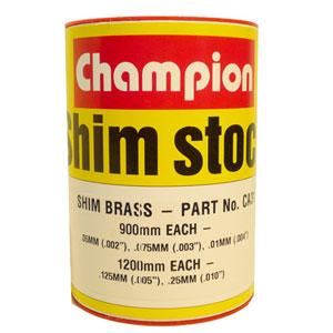 Brass Shim Assortment 60mm Wide Roll (5 Sizes)