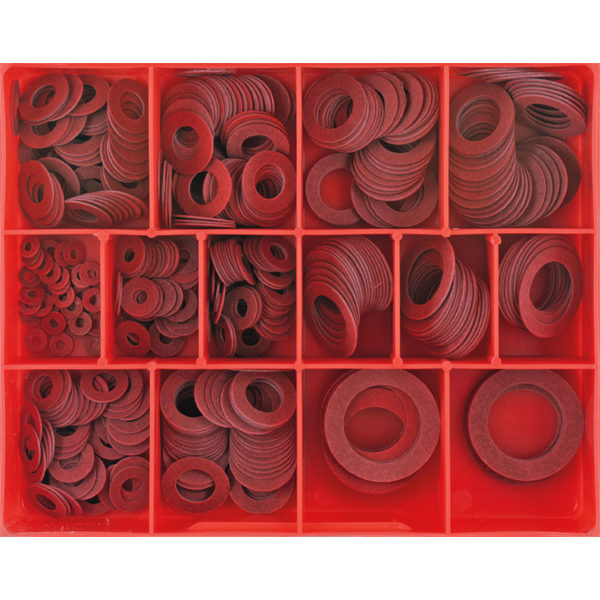 430pc 1/32in Fibre Washer Assortment