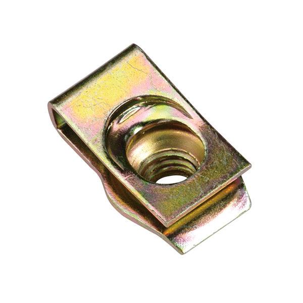 M8 x 1.25mm Universal Captive Nut (Short)- 50pc