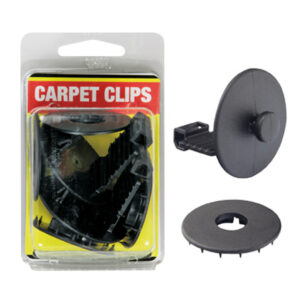 Carpet Clips-Set Of 2 (Black)