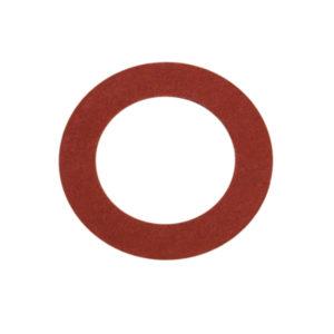 3/8in x 3/4in x 1/32in Red Fibre Washer-100Pk