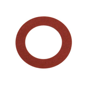 5/32in x 3/8in x 1/32in Red Fibre Washer-100Pk