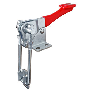 TOGGLE CLAMP LATCH FLANGED BASE 450KG CAP