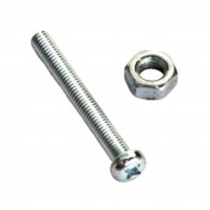 316/A4 Machine Set Screw & Nut-Pan 6 x 25 (A)