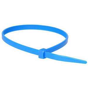 ISL 380 x 4.8mm Nylon Cable Tie - Blue - 100pc