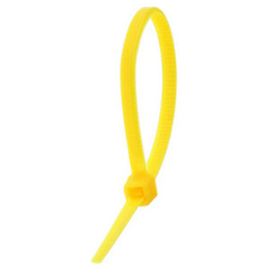 ISL 200 x 4.8mm Nylon Cable Tie - Yellow - 100pc