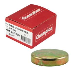 35mm Brass Cup Plug-10Pk