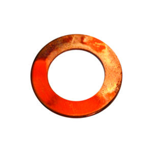 3/8in x 3/4in x 20G Copper Washer-100Pk
