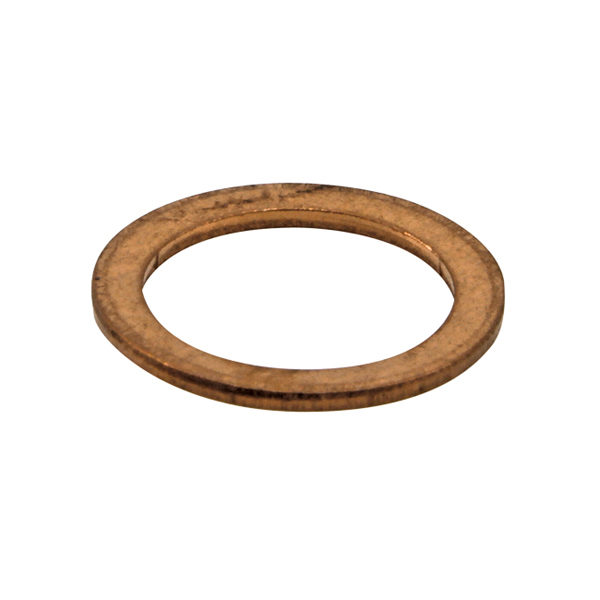 M10 x 14mm x 1.0mm Copper Ring Washer-100Pk