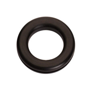 5/8in x 1in x 1-1/8in Rubber Wiring Grommet - 25pc