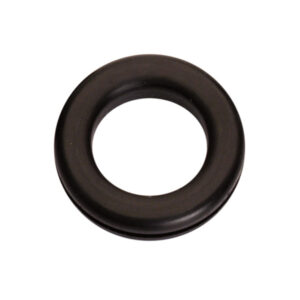 3/8in x 3/4in x 1in Rubber Wiring Grommet - 50pc