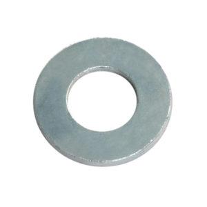 1/4in x 9/16in x 18G Flat Steel Washer-200Pk