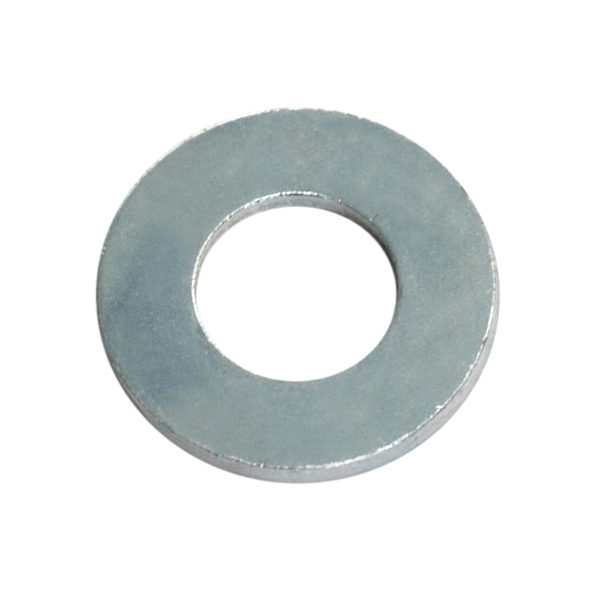 M5 x 10mm x 1.0mm Flat Steel Washer-200Pk