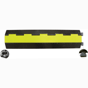 Cable Protector 5T 2 x 30mm Channel - Yellow