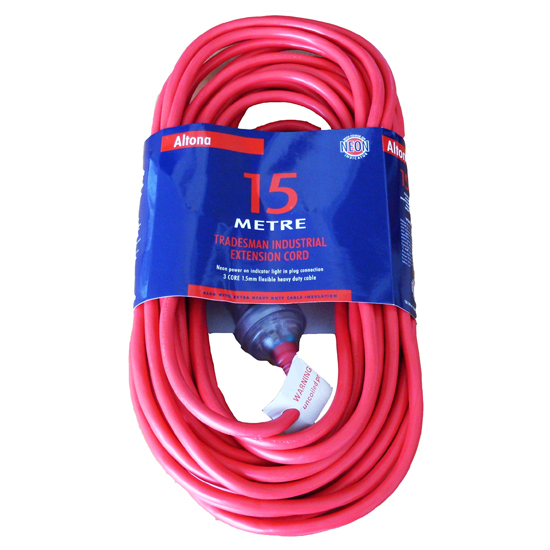 EXTENSION LEAD 15M – HEAVY DUTY