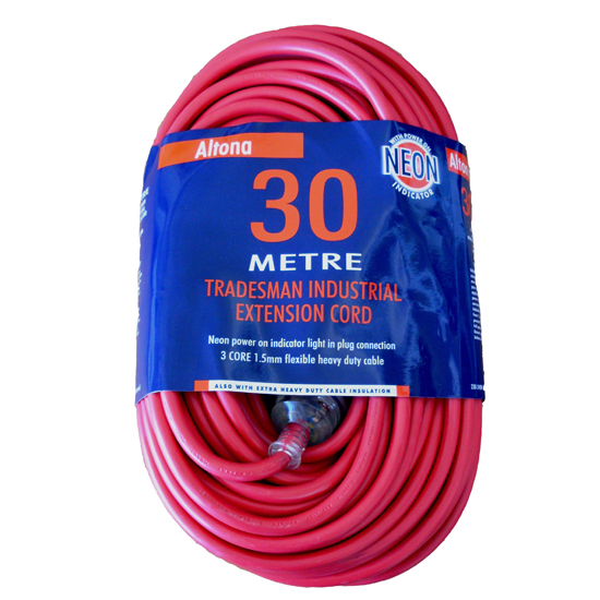 EXTENSION LEAD 30M - HEAVY DUTY