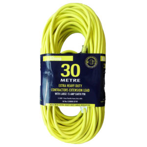 EXTENSION LEAD 30M - HEAVY DUTY 15A