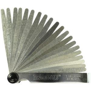 Teng 20 Blade Feeler Gauge 0.05-1.00 x 200mm