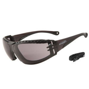 SUPER BOXA SMOKE LENS SAFETY GLASSES