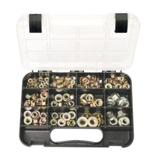 GJ Grab Kit 160pc Metric Flange Nuts