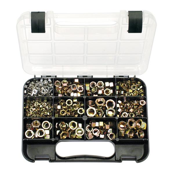 Gj Grab Kit 508Pc Hex Nuts UNF/UNC-GR5