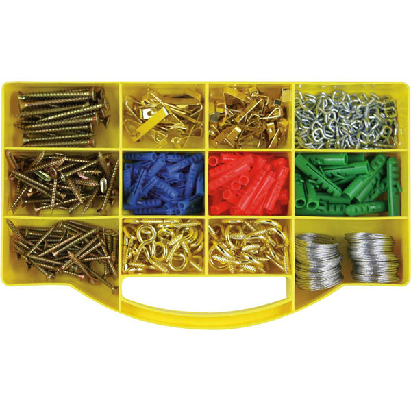 GJ Grab Kit 390pc Picture Hook Kit**