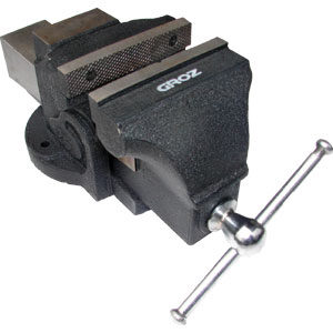 """GROZ PROFESSIONAL BENCH VICE 125mm/5"""""""