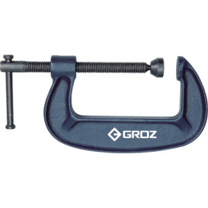 Groz G-Clamp 8in / 200mm - Throat Depth 80mm