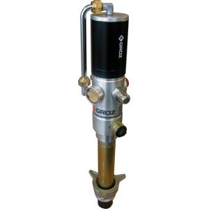 Groz 5:1 Ratio Air Dbl Acting Oil Pump (Stub) BSP