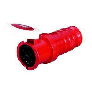 125A 5Pin 3P N E IP67 Industrial Conn. 415V**