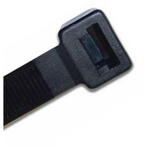 ISL 200 x 7.6mm UV Nylon Cable Tie - Black - 100pc